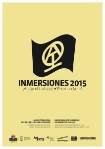 CARTEL INMERSIONES 2015